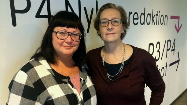 Maria Gustafsson och Anna Hammarén pratar upphovsrätt i SR P4 Götebprg
