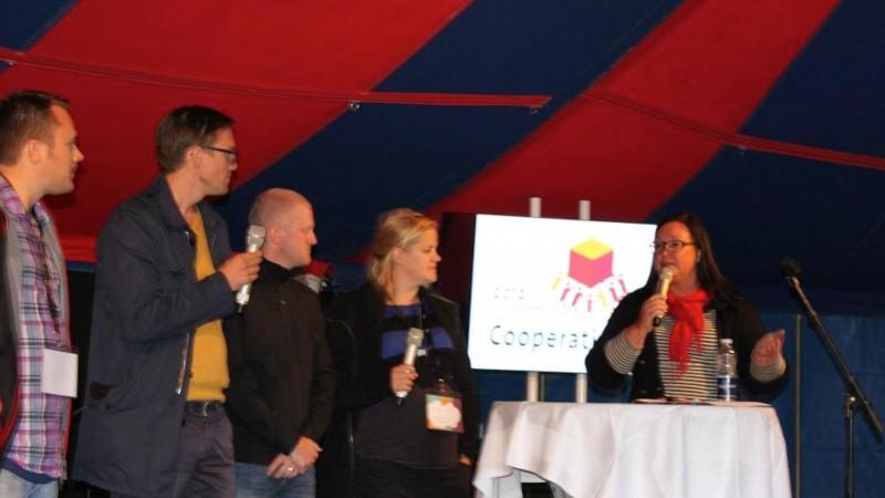 Konferencier på Coompanions medlemsdag