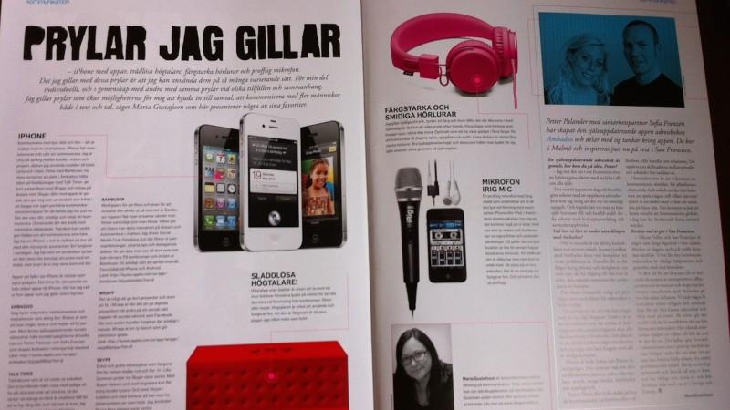 Edita kundtidning Maria Gustafsson