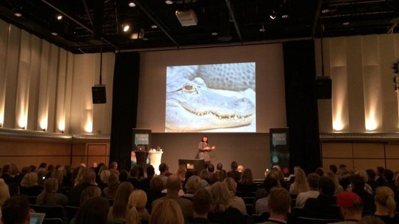 Maria Gustafsson Internet i fokus 2015 foto David Klein