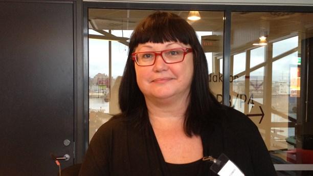 Maria Gustafsson i SR P4 Göteborg om chipet i handen