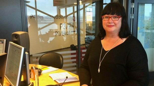 Maria Gustafsson i p4 göteborg foto susanne ehlin, sr
